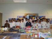 """ابتدائية """"ابن الهيثم"""" تنفذ زيارة لقسم التربية الفنية بجامعة الملك فيصل"""