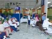 بالصور.. كهرباء #الأحساء تشارك وزارة الصحة بحملة للتبرع بالدم