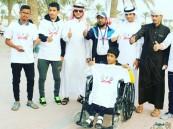 بالصور.. فريق سعودي بحريني يشارك #البحرين احتفائها باليوم العالمي للمعاقين