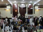 """حلقات """"عمر بن عبدالعزيز"""" بجامع الروضة تُكرم معلميها وطلابها المتميزين"""