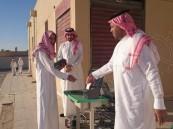 ثانوية الشيخ محمد بن عبدالوهاب تطبق التحضير الإلكتروني للطلاب