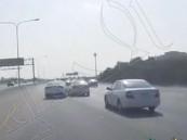 """توقيف سائقين تعمد أحدهما """"صدم الآخر"""" في #الشرقية"""