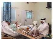 وزير الصحة القطري يطمئن على صحة العرجي
