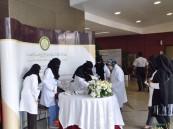 """""""النعيم"""" و """"الدوسري"""" تفوزان بالمركز الأول باللقاء التنافسي لطلاب و طالبات التعليم العالي"""
