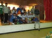 بثانوية النووي …نادي التميز يختتم بطولة خماسيات التميز لكرة القدم