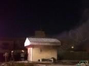 بالفيديو والصور.. تصاعد أعمدة الحريق من داخل أمانة #الأحساء