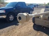 بالفيديو.. مدفع مضاد للدبابات ضد شاحنة بيك آب أمريكية.. والنتيجة غير متوقعة