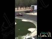 شاهد المقطع الذي صورته مواطنة ليوقع بأشهر مفحطي جدة