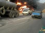 بالفيديو.. الأحوازيون يردون على احراق القنصلية السعودية بتفجير منشأة نفط إيرانية