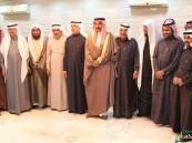 """بحضور الأمير عبدالعزيز بن جلوي آلِ سعود.. """"العميرين"""" يُكرم المجلس البلدي الجديد"""