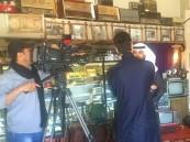 """التلفزيون السعودي في ضيافة متحف """"الناصر"""""""