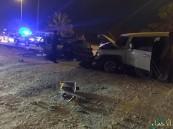 """بالصور.. في #الأحساء حادث مروع يصيب أربعة أشخاص على """"الدائري"""""""