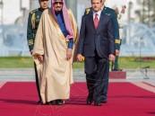 بالصور.. خادم الحرمين يعقد جلسة مباحثات مع الرئيس المكسيكي
