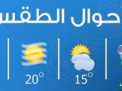 هذه حالة الطقس المتوقعة ليوم الأثنين .. ودرجات الحرارة على #الأحساء