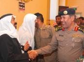بالصور.. حضور كبير للمعزين في #شهداء_الأحساء والمعرض يجسد الكارثة