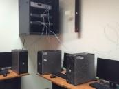 الكلية التقنية للبنات تحول معمل شبكات الى معمل تفاعلي
