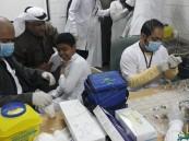 الحملة الوطنية للتطعيم في مدرسة إشبيلية المتوسطة