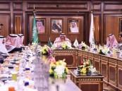 سمو #ولي_العهد يرأس اجتماعاً لقادة القطاعات الأمنية