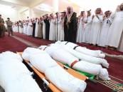 بالصور.. #وزير_التعليم يتقدم مشيعي جنازة 6 معلمين بجازان