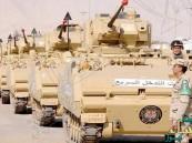 """قوات مصرية بطريقها للسعودية ضمن مناورات """"رعد الشمال"""""""