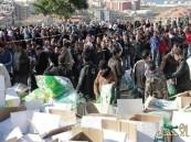 """""""الحملة السعودية"""" تزود 1376 أسرة سورية بالمستلزمات الشتوية"""