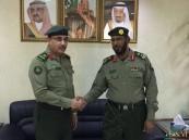 مدير جوازات المنطقة الشرقية يُقلد الرشيد رتبته الجديدة
