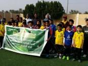 """بمشاركة 6 مدارس """"الليث بن سعد"""" الابتدائية تنظم دورة لكرة القدم"""