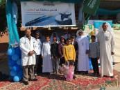 مدرسة الإمام النسائي في زيارة لمستشفى الجفر العام