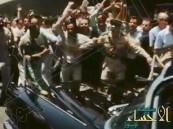 فيديو … مقطع نادر زيارة الملك فيصل لمصر وسط استقبال شعبي هائل