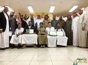 تكريم الطلاب المشاركين في الأولمبياد الوطني بالفيصلية الثانوية