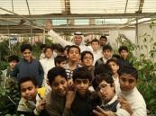 """طلاب """"ضرار"""" في محطة أبحاث جامعة الملك فيصل"""