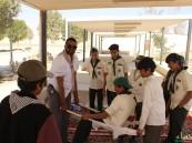 مركز الملك عبدالعزيز الكشفي يحتضن 80 كشاف فئة الفتيان