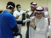 ثانوية الملك خالد تشارك في الحملة الوطنية للتطعيم