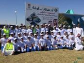 مراكز النشاط الاجتماعي تنفذ حملة تنظيف شاطئ العقير