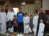 بالصور … إبتدائية سعود بن نايف تحتفي بأبن الشهيد والناجون من اعتداء مسجد الرضا