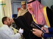 """بالصور… """"الجندي"""" المصاب في حادثة مسجد الرضا لـ """"الأحساء نيوز"""": كلنا فداء للوطن"""