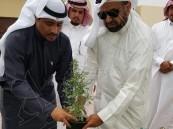 محافظة العديد تطلق أسبوع الشجرة
