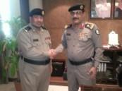 """مدير شرطة الأحساء يُقلد """" الحمد"""" رتبته الجديدة"""
