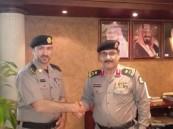 """مدير شرطة الأحساء يُقلد """" الجعفر"""" رتبته الجديدة"""