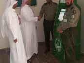 جهاز ابشر في جوازات منفذ البطحاء لخدمة المسافرين والمواطنين والمقيمين