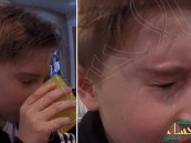 بالفيديو.. طفل يدخل المياه من أنفه ويخرجها من عينيه !!