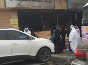 """بالفيديو والصور … حريق ضخم يلتهم أجزاء من مدرسة بـ""""طرف"""" #الأحساء"""