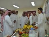 بالصور.. اليوم العالمي للفاكهة بمتوسطة الحسين بن علي بالهفوف