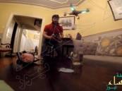 """بالفيديو.. يقدم لزوجته كوب شاي بـ""""طائرة بدون طيار"""" !!"""