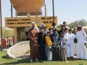 مدرسة الوليد في ضيافة محطة الأبحاث الزراعية