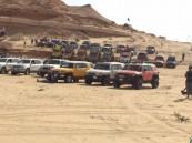 بالصور.. فعاليات #اكتشف_الحسا تجمع ٤٠٠ مشارك وأكثر من ٢٢٠ سيارة 4×4