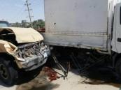 """بالصور… نجاة 2 وإصابة 4 بحادث مروري في """"رميلة"""" #الأحساء"""