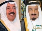 #الملك_سلمان يستعرض العلاقات الثنائية مع أمير الكويت