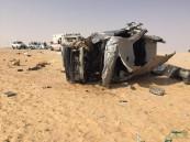 بالصور في #الأحساء .. حادث مأساوي يتسبب في وفاة ٣ أشخاص