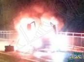 بالفيديو..لحظة تحول لامبورغيني إلى كرة ملتهبة بسبب حادث سير